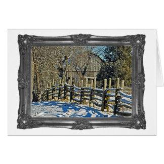 Winter Nights Card