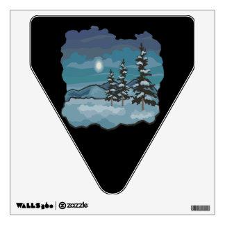 Winter Nights Room Sticker
