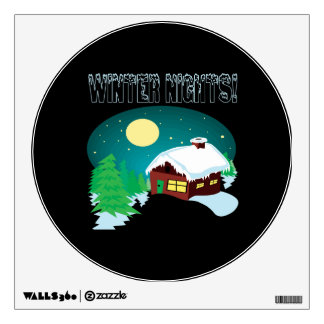 Winter Nights Wall Decals