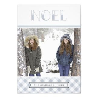 Winter Noel | Holiday Photo Card