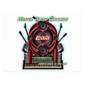 Winter Noise Machine Postcard