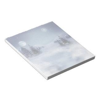 Winter Note Pad