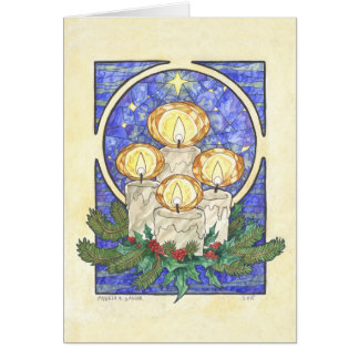 Winter Offering Greeting Card