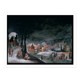 Winter (oil on panel) (see also 166905, 166906, 16 postcard