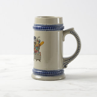 Winter Olympic ver.the last supper 18 Oz Beer Stein
