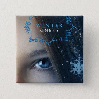 Winter Omens Button