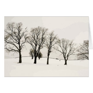 Winter on Christmas Cards