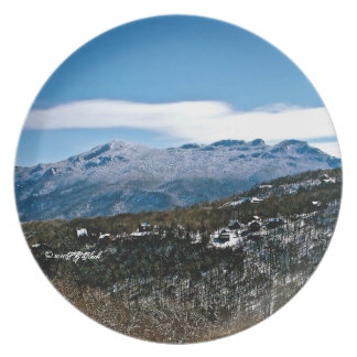 Winter on Grandfather Mountain Dinner Plate