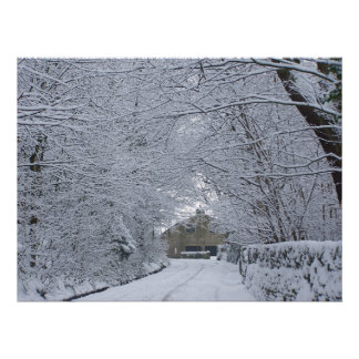 Winter on Greenhill Poster