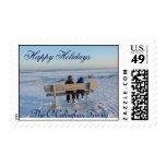 Winter on Lake Erie Postage