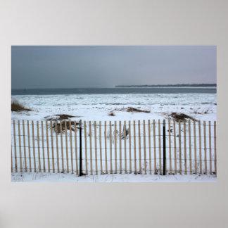Winter on Lake Huron 3 Poster
