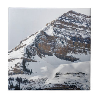 Winter on Mt Timpanogos - Sundance - Utah Ceramic Tile