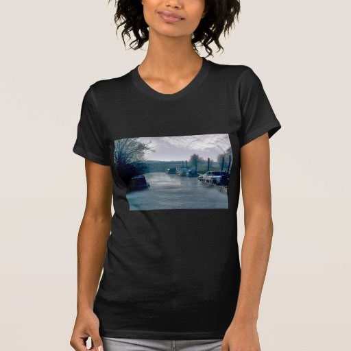 Winter on the Canal Tshirt