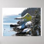 Winter on the Maine Coast Print