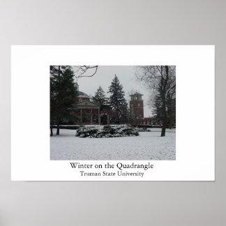 Winter on the Quadrangle Posters