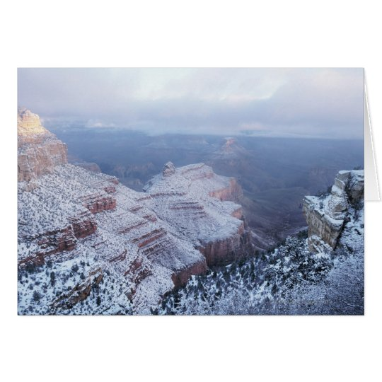 Winter on the South Rim, Grand Canyon National Card
