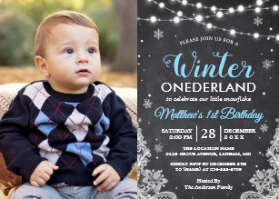 baby boy 1st birthday invitations zazzle