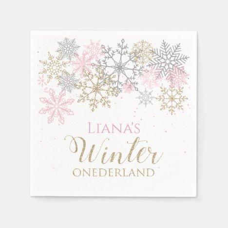 Winter Onederland Napkin