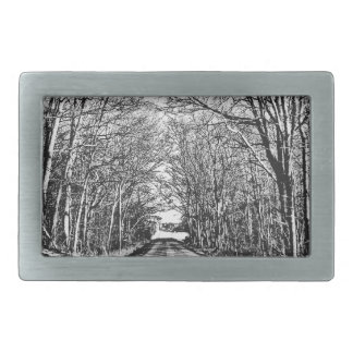 Winter or Spring? Rectangular Belt Buckle