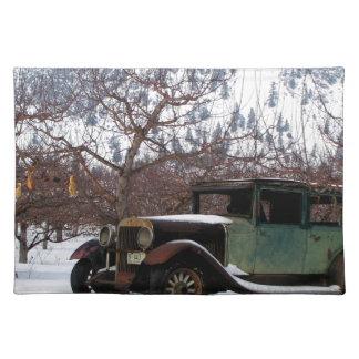 Winter Orchard Landmark Placemat