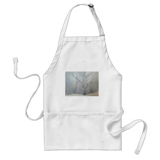 Winter Orchard Scene Adult Apron
