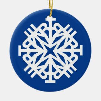 WINTER Ornament Blue 1