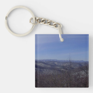 Winter Overlook Keychain