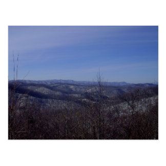 Winter Overlook Postcard