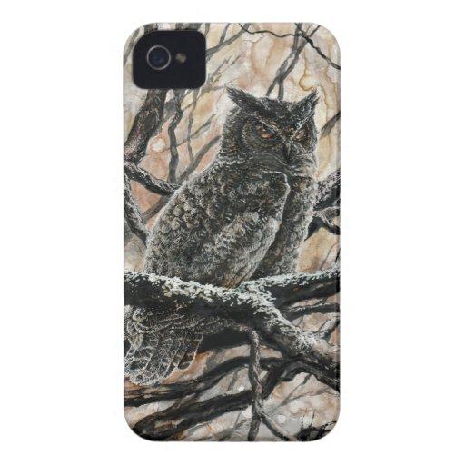 Winter Owl iPhone 4 Case-Mate Cases