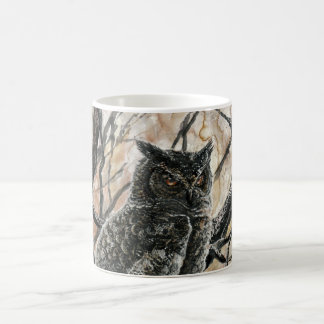 Winter Owl Coffee Mug
