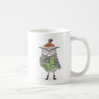 Winter Owl Coffee Mug