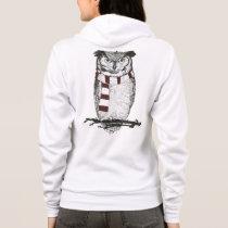 Winter owl hoodie