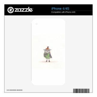 Winter Owl iPhone 4S Skin