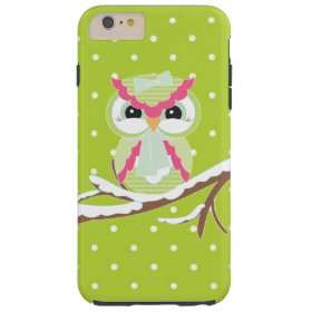 Winter owl iPhone 6 plus tough case Tough iPhone 6 Plus Case