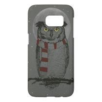 Winter owl samsung galaxy s7 case