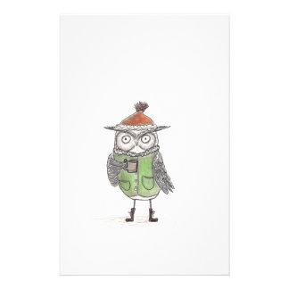 Winter Owl Stationery