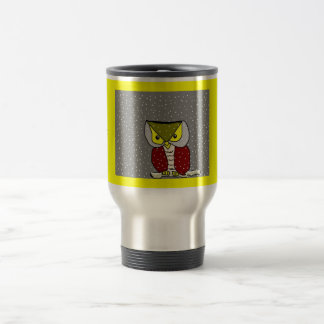 """ Winter Owl "" Travel Mug... Travel Mug"