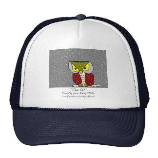 """"""" Winter Owl """" ...Trucker Hat ..."""