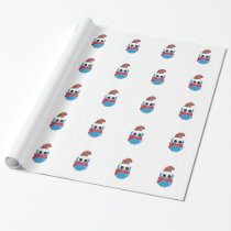 Winter Owl Wrapping Paper