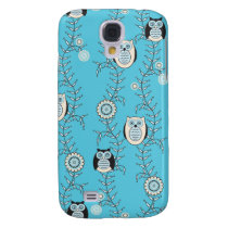 Winter Owls 3G/3S  Galaxy S4 Cover