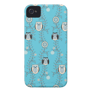 Winter Owls BlackBerry Bold Case-Mate Barely There iPhone 4 Covers
