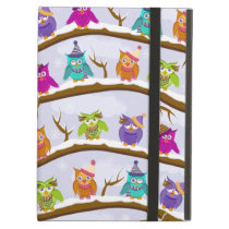 winter owls case for iPad air