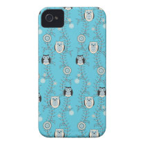 Winter Owls iPhone 4 Barely There Case