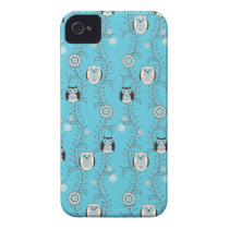 Winter Owls iPhone 4 Case-Mate ID