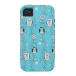 Winter Owls iPhone 4 Case-Mate Tough