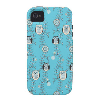 Winter Owls iPhone 4 Case-Mate Tough