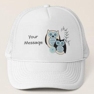 Winter Owls Trucker Hat
