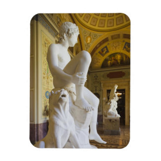 Winter Palace, Hermitage Museum, statue gallery Magnet