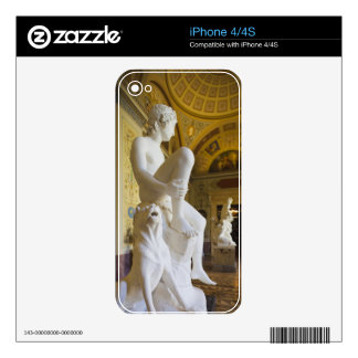 Winter Palace, Hermitage Museum, statue gallery Skin For iPhone 4S