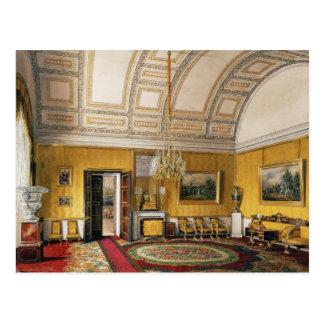 Winter Palace Interiors Postcard